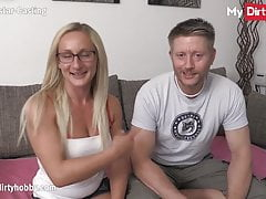 MyDirtyHobby - Cheating wife films herself getting drilled