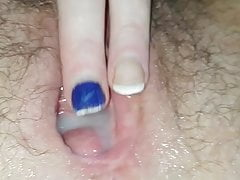 Watch younger bull fill my wife with cum
